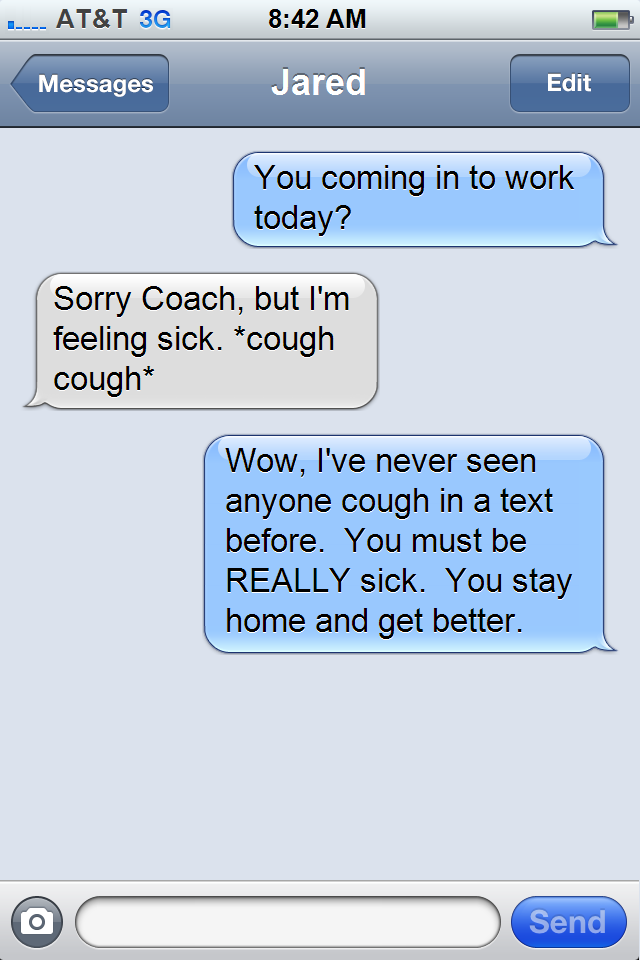 Fake Text Messages Of Norv Turner Bolts From The Blue