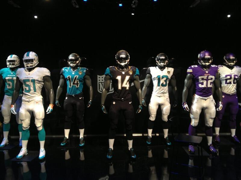 new nfl uniforms