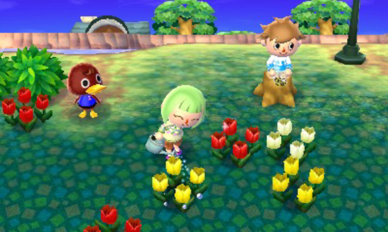 Animal-crossing-3ds-screenshot-flowers