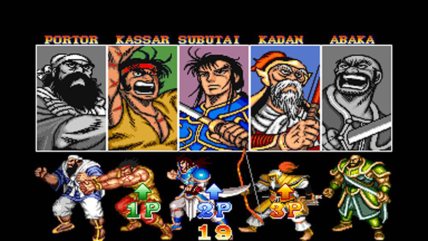 Image result for warriors of fate character select