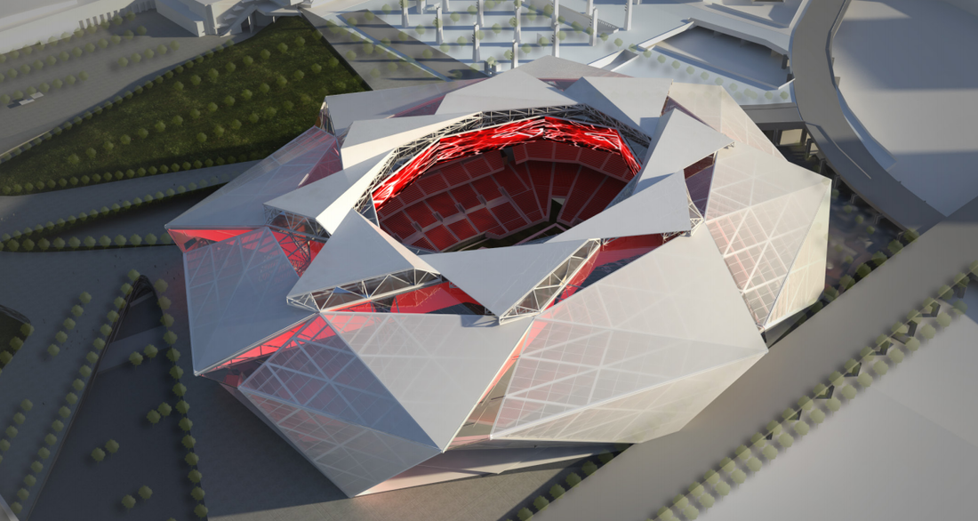 The Stankonia Dome Ranking The Falcons Stadium Concept S