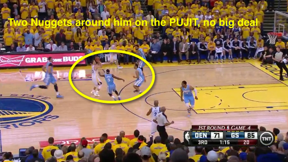 The 10 best stephen curry shots from the warriors nuggets series