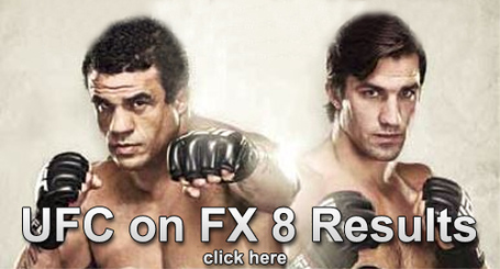 UFC on FX 8 Results