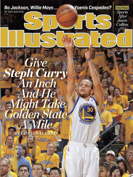 > Stephen Curry makes cover of SI - Photo posted in BX SportsCenter | Sign in and leave a comment below!