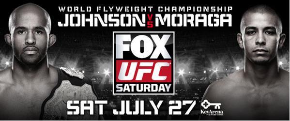 UFC on FOX 8 : Demetrious Johnson vs John Moraga Live Stream