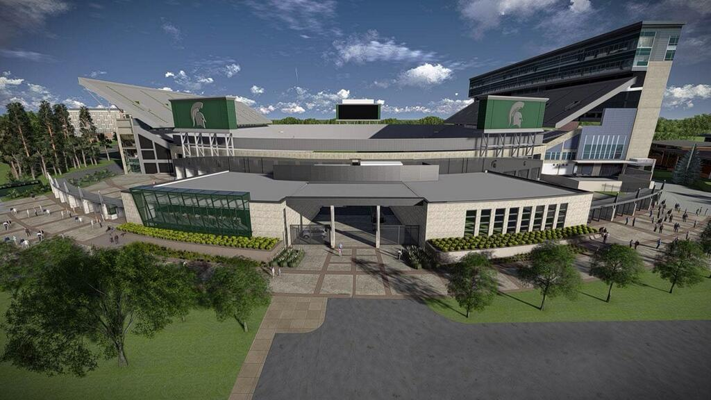 Spartan stadium 39 s future the only colors for House plans designed for future expansion