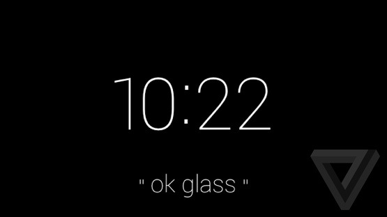Ok-glass-screen