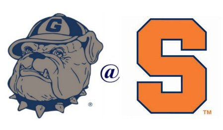 Image of Georgetown vs. Syracuse in college basketball.
