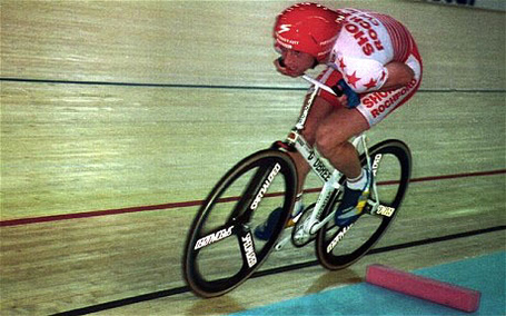 The Race Against Time, by Edward Pickering - Graeme Obree