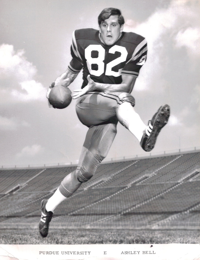 old school purdue photos featuring bob griese gus grissom