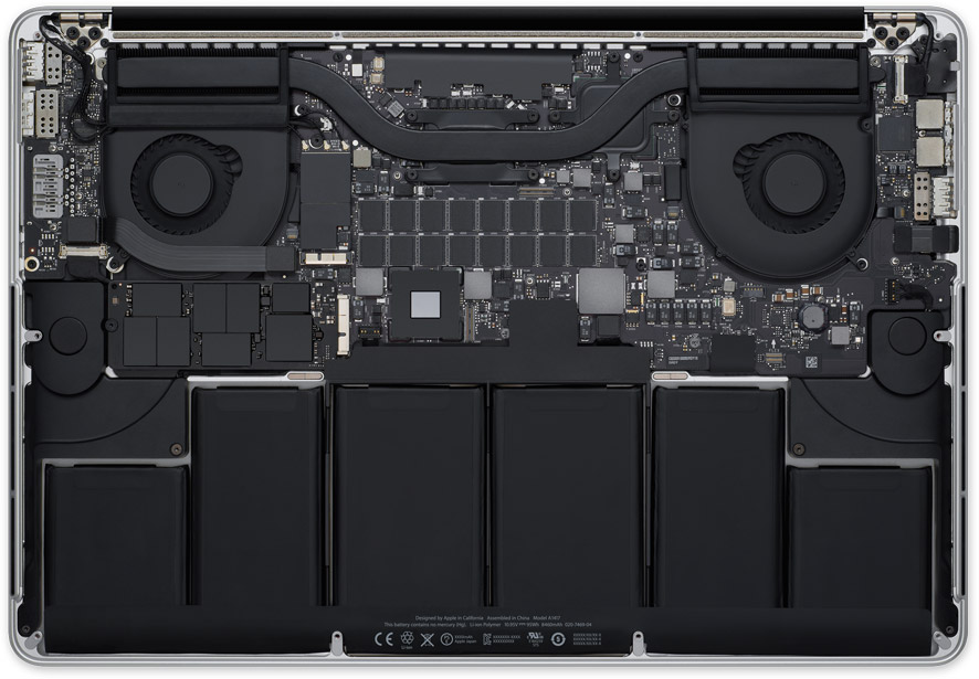 Inside Apple's MacBook Pro