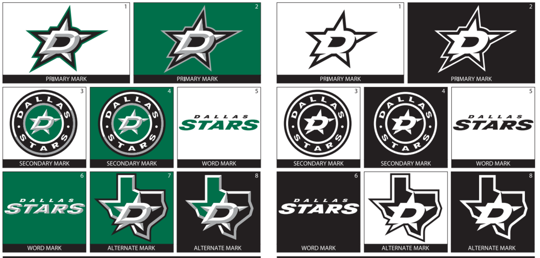 dallas stars reveal new logo and jerseys defending big d