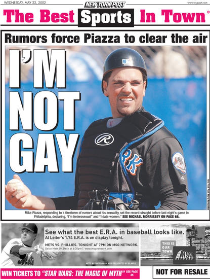 from Bruce piazza gay press conference
