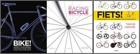 Bike! edited by Daniel Benson + Richard Moore - British, US + Dutch covers