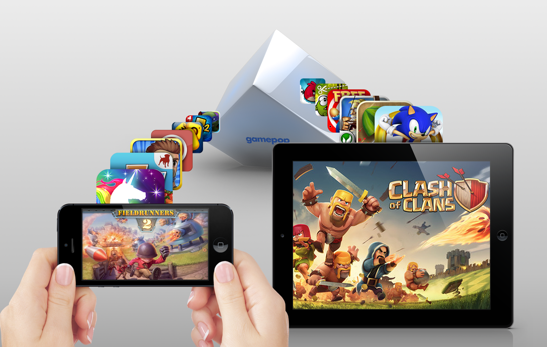 bluestacks android powered gamepop tv console to run ios games gamepop
