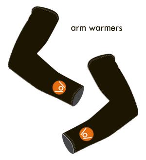Podium Cafe Armwarmers