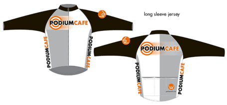 Podium Cafe Longsleeve Jersey