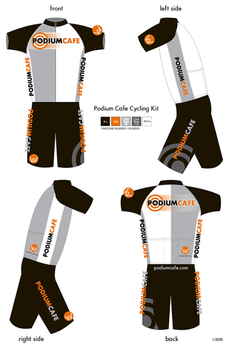 Podium Cafe Cycling Kit