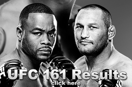 UFC 161 Results