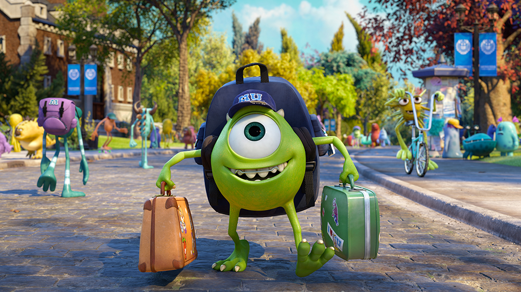 monsters university10 1020 Monsters University review: Pixar makes prequels look easy