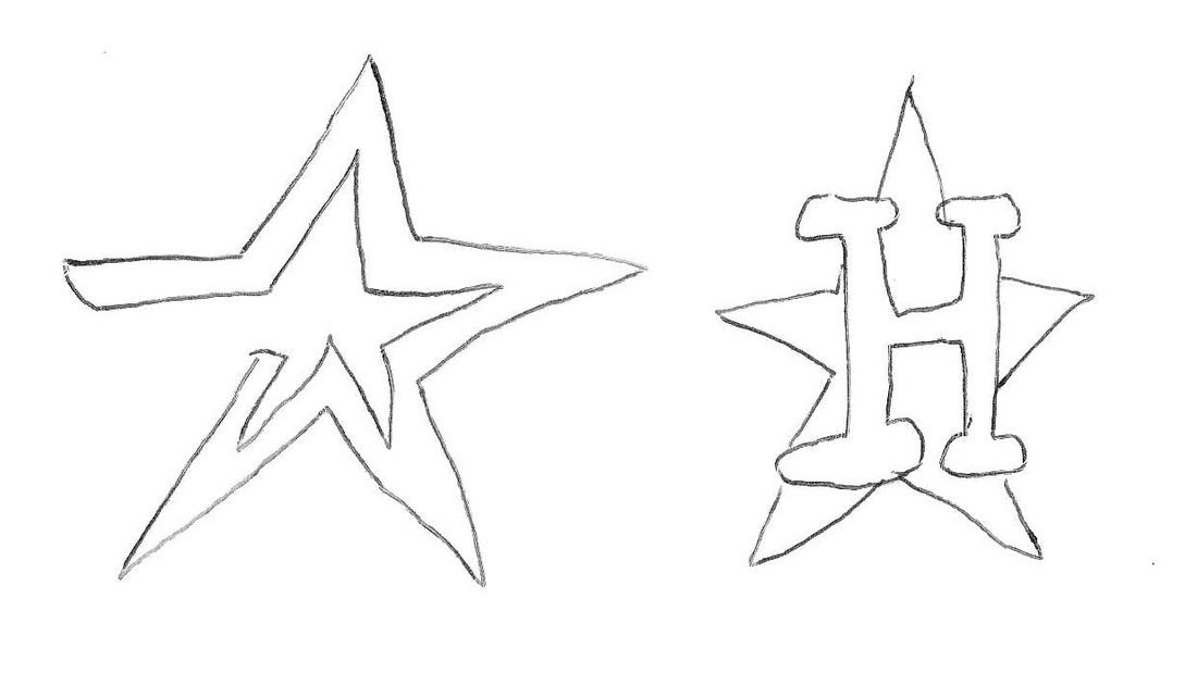 Draw A Sports Logo From Memory Houston Astros Sbnation