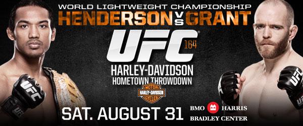 UFC 164 Бенсон Хендерсон Ти Джей Грант