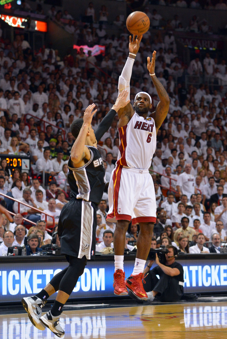 NBA Finals 2013: LeBron James inches up list of all-time ...