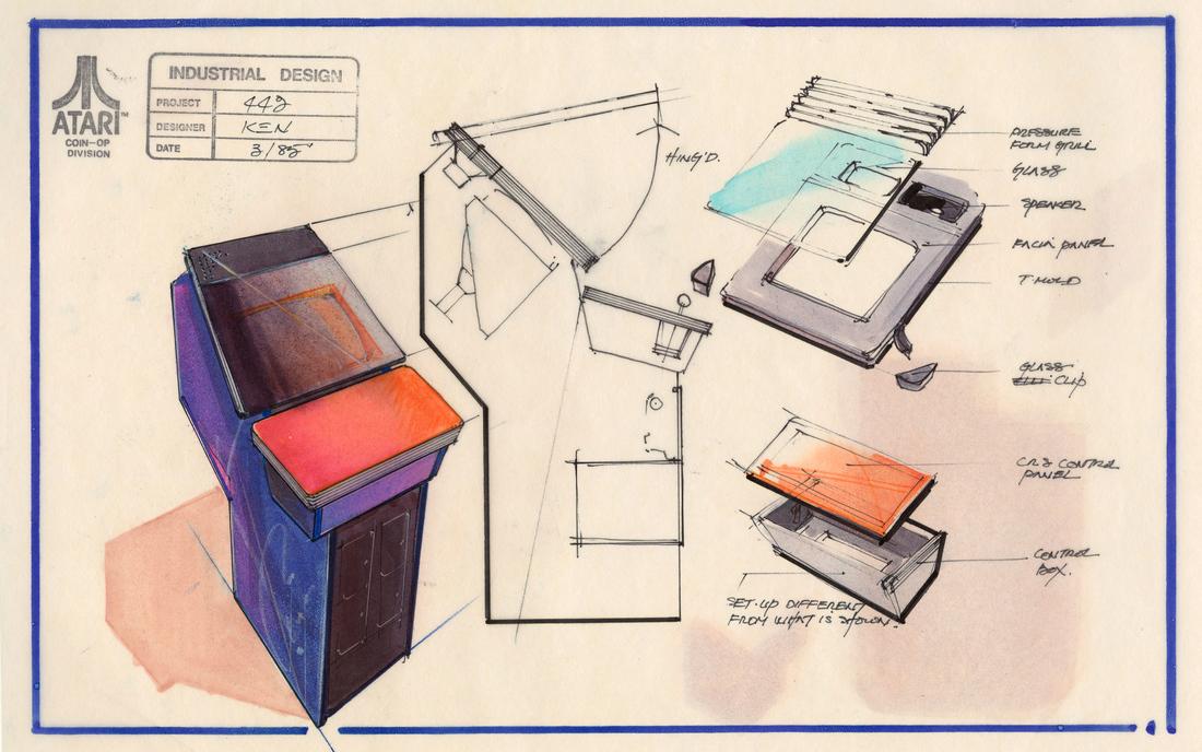 Atari-gauntlet-design-documents