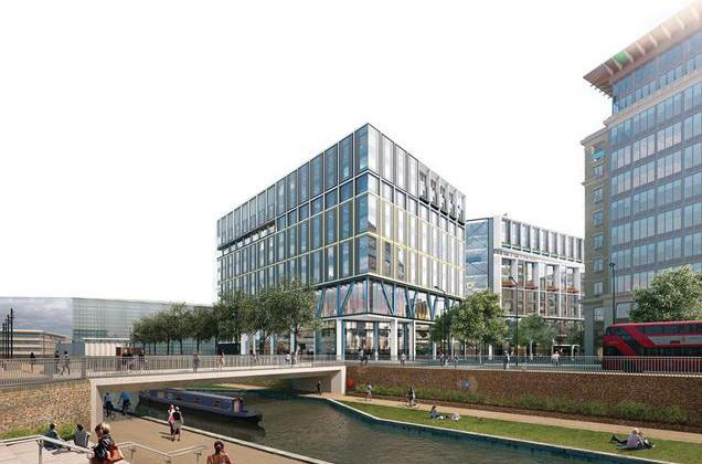 First Renders Of Google 39 S 1 6 Billion London Hq Emerge
