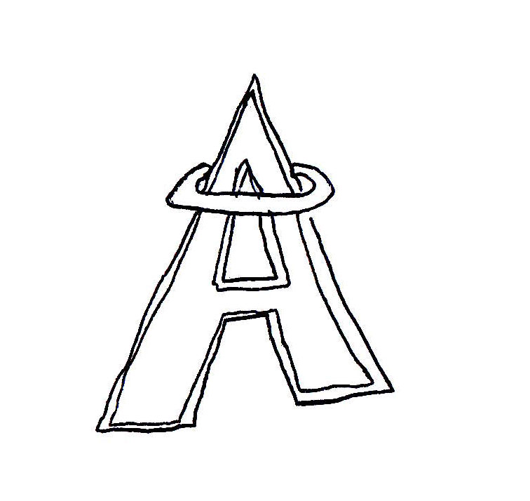 Draw A Sports Logo From Memory Los Angeles Angels