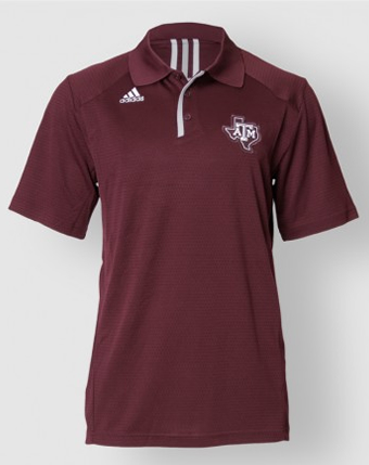 Texas A&M Climalite Sideline Polo