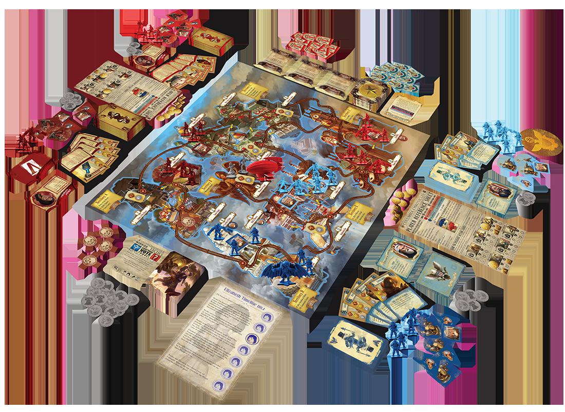 The Siege of Columbia: Making the BioShock Infinite board game