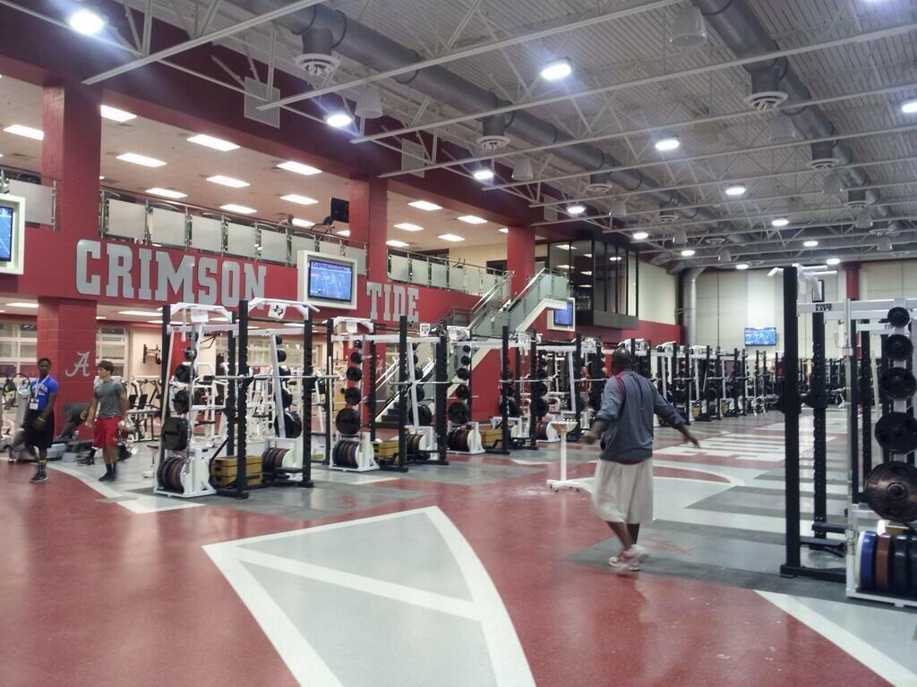 Tennessee Tech Football Locker Room