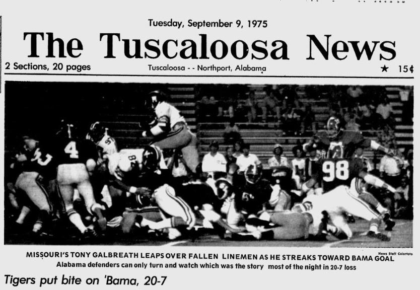 Tuscaloosa News, 9-9-75