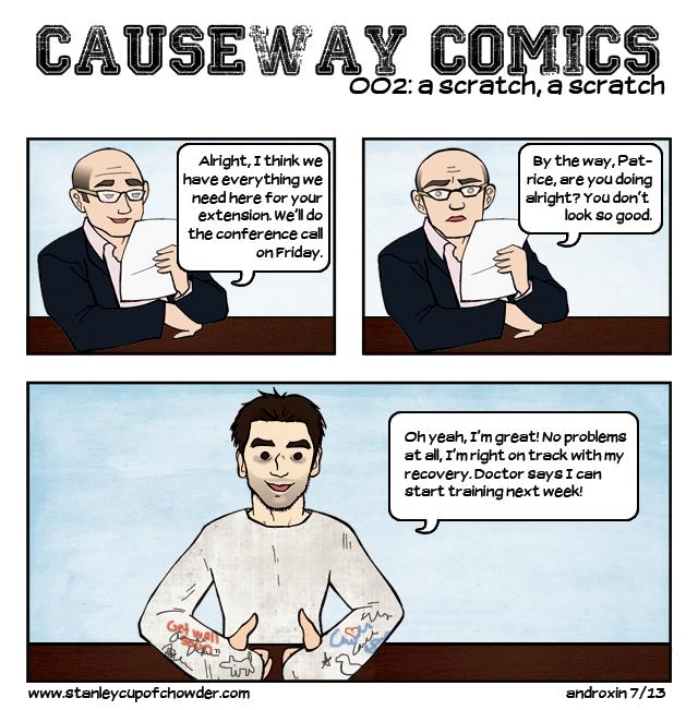 Causeway Comics: A Scratch, A Scratch (002)