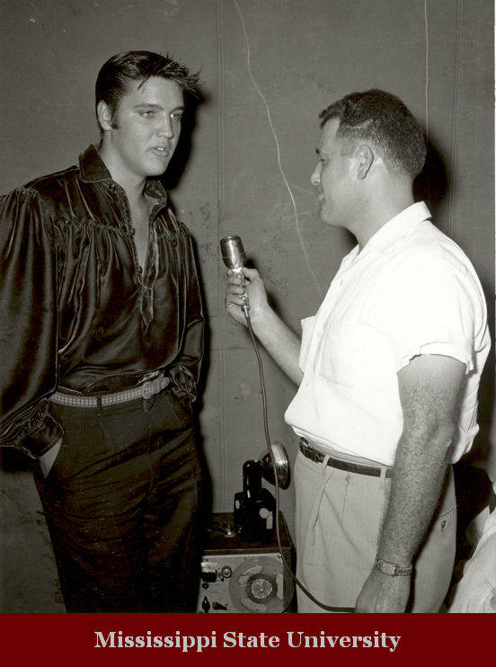Jack Cristil interviews Elvis
