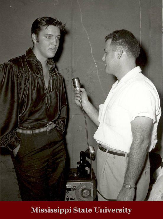 Jack Cristil interviews Elvis