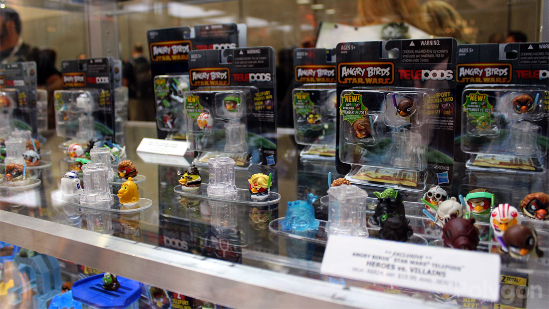 Angry Birds Star Wars Toys : Angry birds star wars ii telepods raving toy maniac