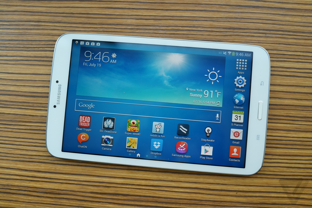 samsung galaxy tab and review