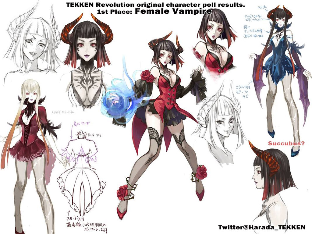 Tekken_revolution_female_vampire