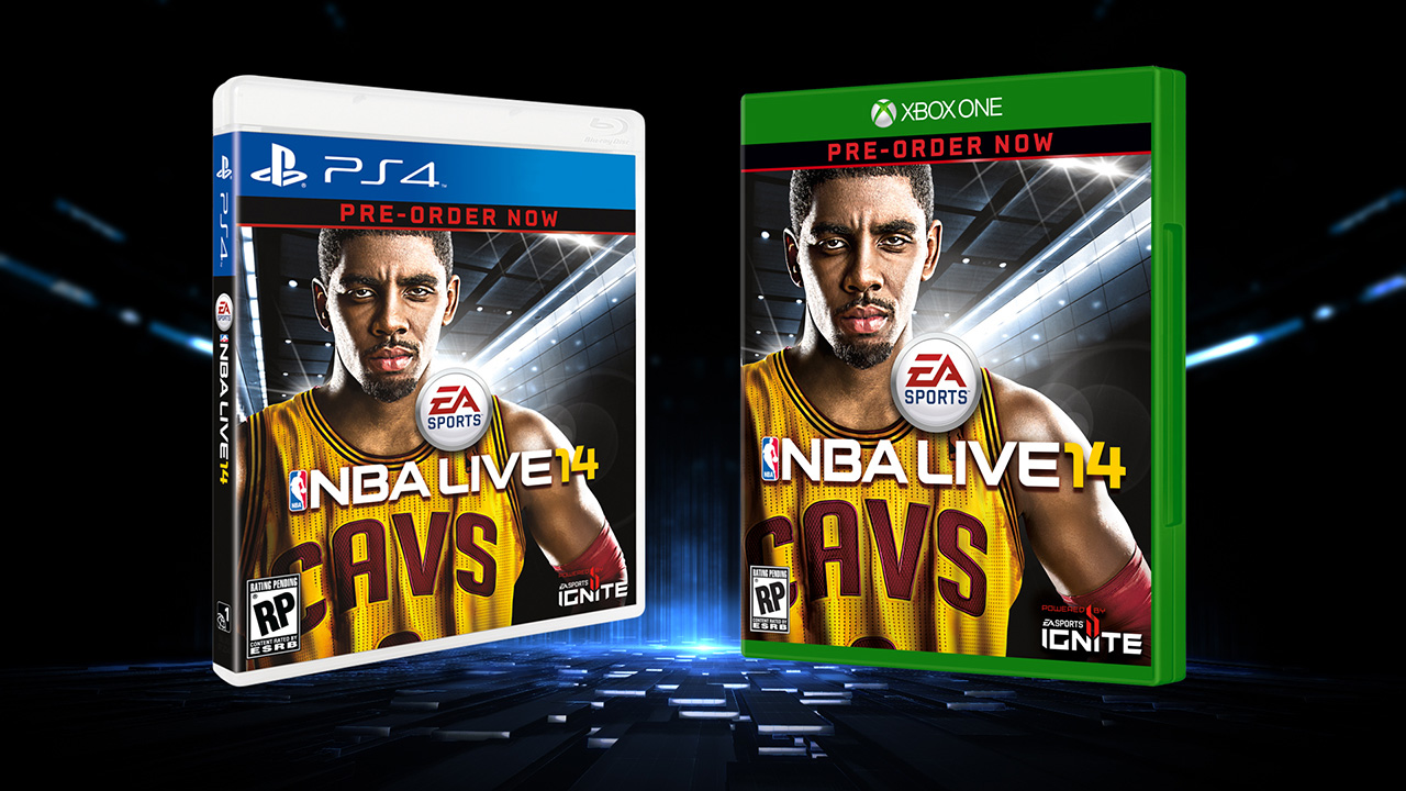 See NBA Live 14 cover athlete Kyrie Irving in first in-game clip