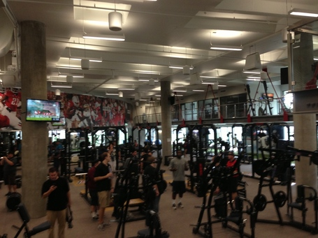 Lowell Stevens Football Facility Breaking Down The