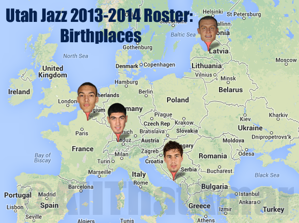 Utah Jazz Roster Where Is Your Home Sweet Home SLC Dunk - Where is utah