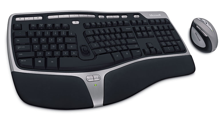 Microsoft Natural Ergonomic Desktop from 2007