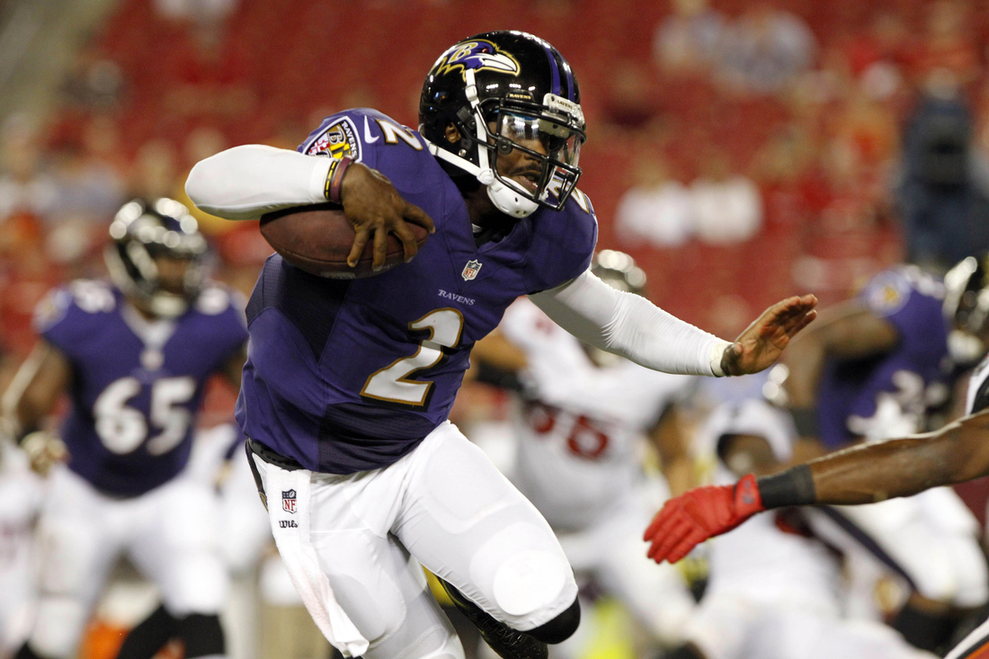 The Ravens, Tyrod Taylor And The Read-Option Sweeping The NFL ...