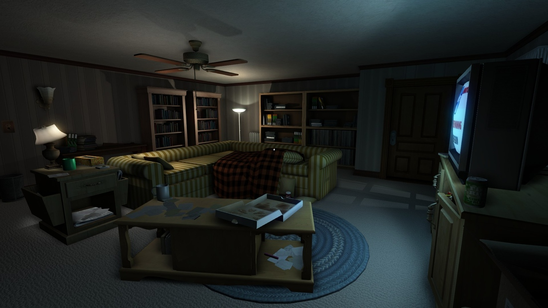 Gone Home Review Living Room