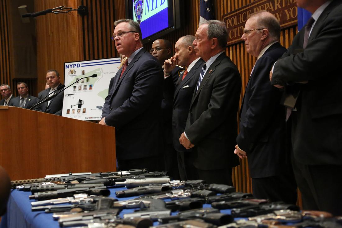 NYPD gun bust