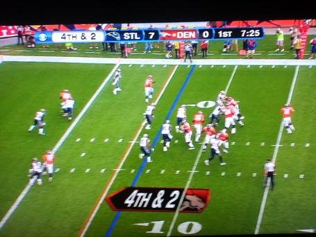 Peyton Manning Broncos Throwing