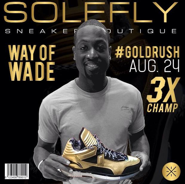 Fans Turn Out For Dwyane Wade 39 S Solefly Sneaker Release