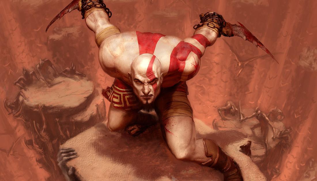 God Of War Art Gallery Polygon